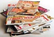 photo of a pile of magazines