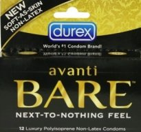 photo of Durex Avanti Bare polyisoprene condoms