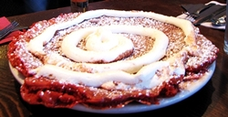 photo of red velvet pancakes