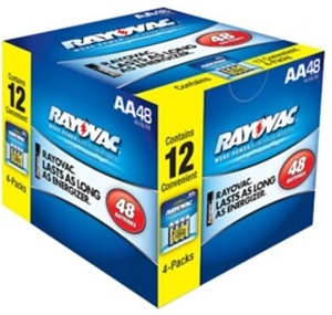 picture of 48 AA batteries