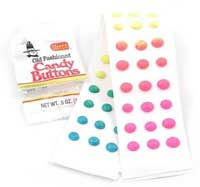 photo of candy buttons