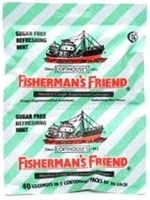 picture of Fishermans Friend menthol cough drop
