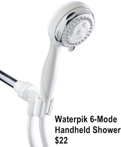 picture of a handheld showerhead