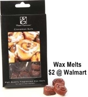picture of cinnamon roll home fragrance wax melts