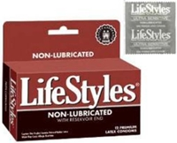 picture of Lifestyles non-lubricated condoms