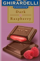 photo of a raspberry filled chocolate