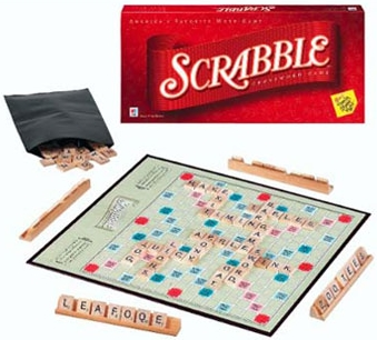 picture of the Scrabble board game
