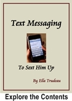 picture of the cover of Text Messaging to Sext Him Up