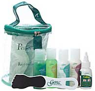 photo of the Gena Pedi Feet To Go Kit containing pedicure essentials