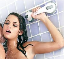 photo of shower sex handle