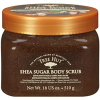 Try some special shower gel like Tree Hut Shea Sugar Body Scrub to give an erotic back rub.