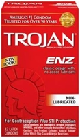 picture of Trojan ENZ non-lubricated condoms